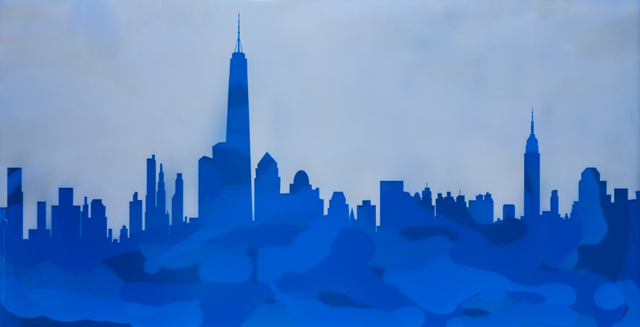 , 'NYC Skyline,' 2016, Canfin Gallery
