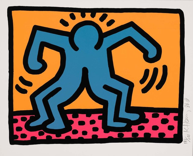 Keith Haring, 'Untitled, 1988 (Pop Shop II - C)', 1988, Martin Lawrence Galleries