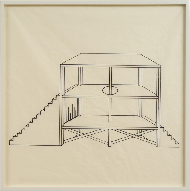 , 'Elevations: Platforms, Stages, & Catwalks II,' 2012, Anglim Gilbert Gallery