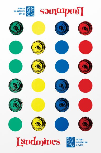 , 'Landmines,' 2015, Artêria