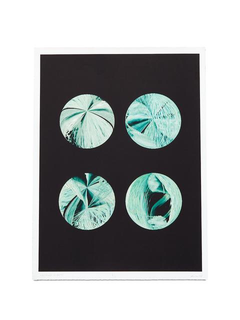Steina Vasulka, 'Emerald Planets', 2004, Print, Iris Print, BERG Contemporary
