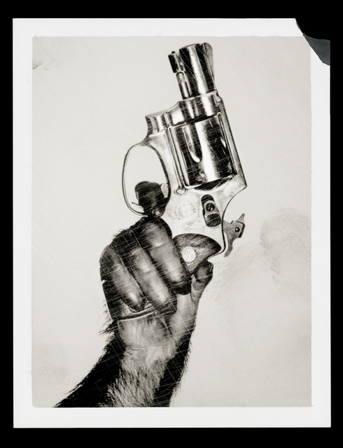 , 'Monkey with Gun,' 1992, CHRISTOPHE GUYE GALERIE