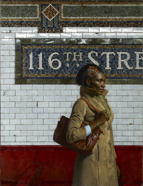 , 'Waiting - 116th St.,' 2012, Gallery Henoch