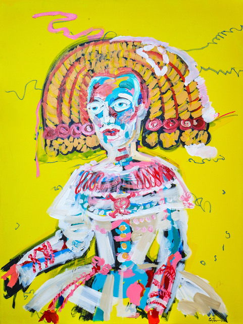 , 'Spanish Yellow Princess ,' 2017, Maddox Gallery