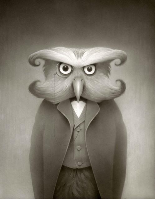 , 'Orson the Owl,' 2018, William Baczek Fine Arts