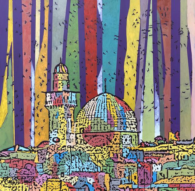, 'City of Peace #1,' 2018, Zawyeh Gallery