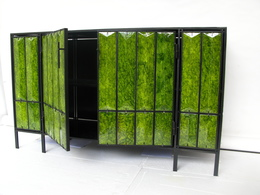 , 'Green Lava Cabinet,' 2012, Cristina Grajales Gallery