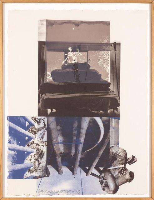 Robert Rauschenberg, 'ROOKERY MOUNDS--NIGHT TORK (GEMINI 842)', 1979, Print, Color lithograph, Doyle