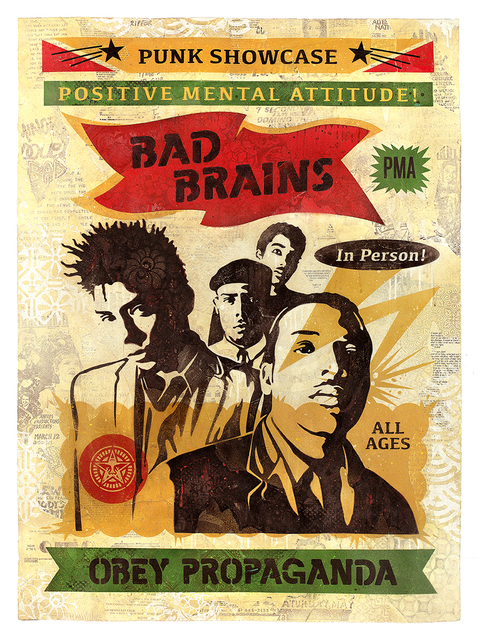, 'Bad Brains Punk Showcase,' 2016, Subliminal Projects