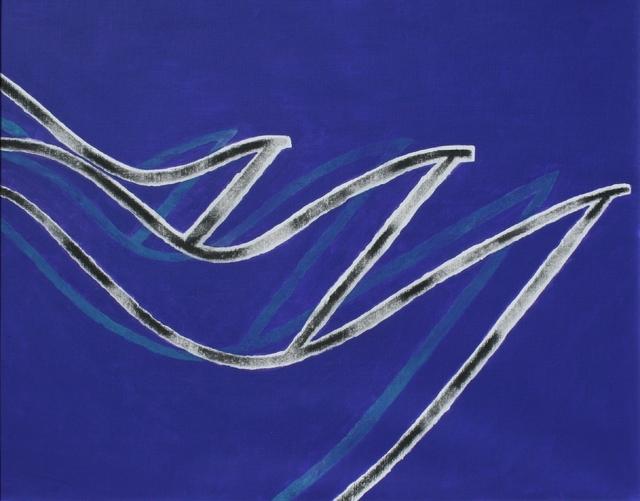 Derrick Greaves, 'Waves', 2013, James Hyman Gallery