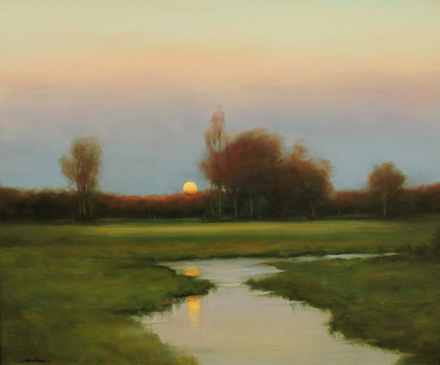 Dennis Sheehan, 'Awaiting the Moonlight', 2019, The Guild of Boston Artists