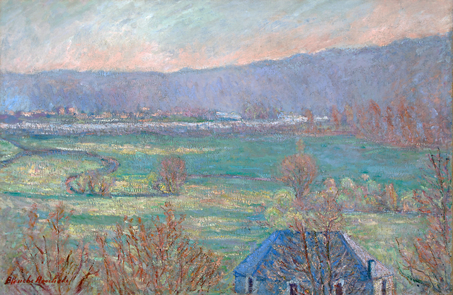 , 'The River Seine at Sorel-Moussel, Normandy, France,' 1911-1928, ArtGiverny
