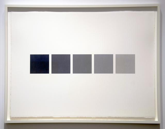 , 'Five-Part Pastel Array 518-522 10/25/99,' 1999, Minus Space
