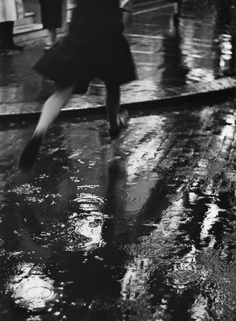 , 'The Puddle Jumper, Charing Cross Road, London,' 1937, The Photographers' Gallery