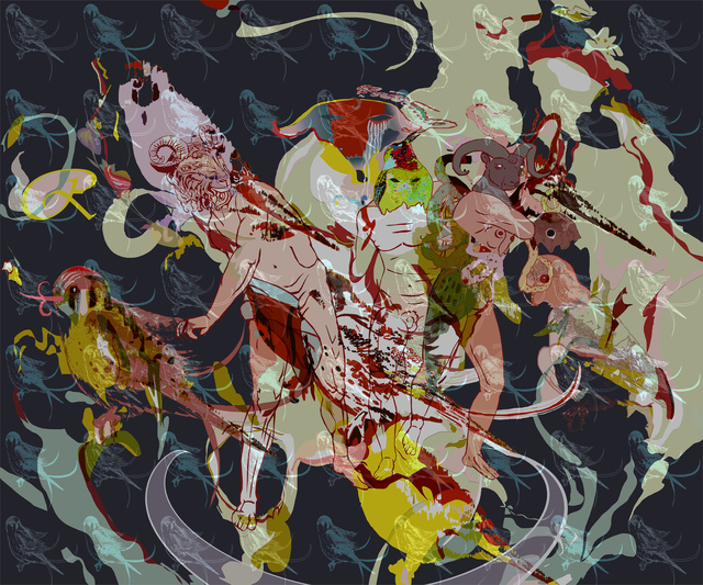 , 'Pangaea Ultima I,' 2015, Gridchinhall