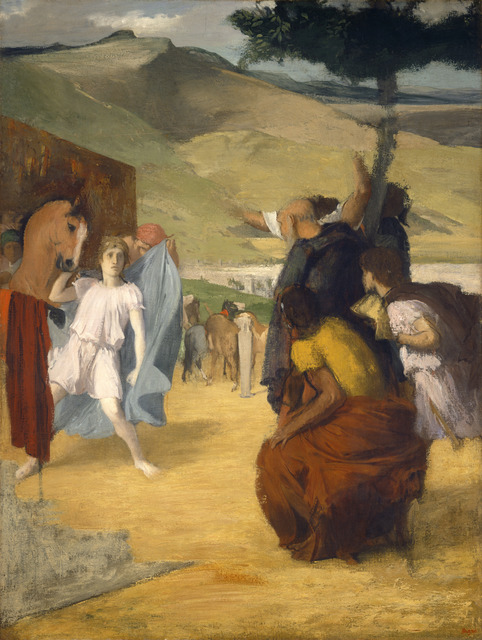 Edgar Degas, 'Alexander and Bucephalus', 1861/1862, National Gallery of Art, Washington, D.C.