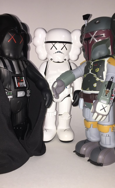 KAWS, 'Star Wars Companions (set of three)', 2007, Lougher Contemporary