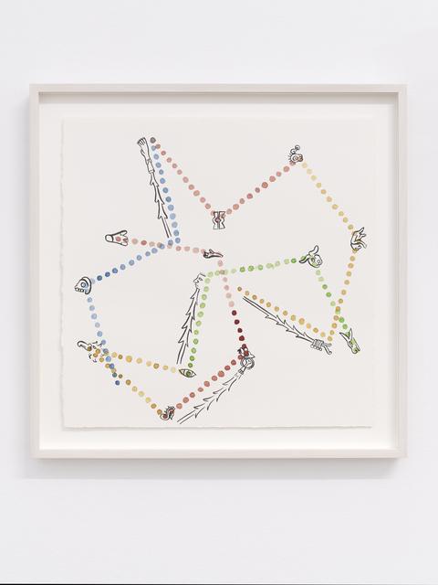 , 'Tonalamatl I,' 2017, Galerie Fons Welters