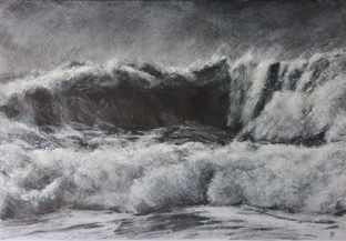 , 'Storm Wave II,' 2016, Beside the Wave