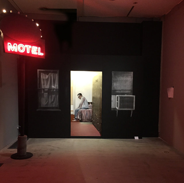, 'Johnny at Hollywood Center Motel,' 2015, Hashimoto Contemporary