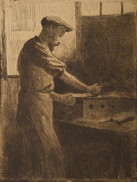 , 'Chez Delâtre (Auguste Delâtre au travail) ,' 1890, Childs Gallery