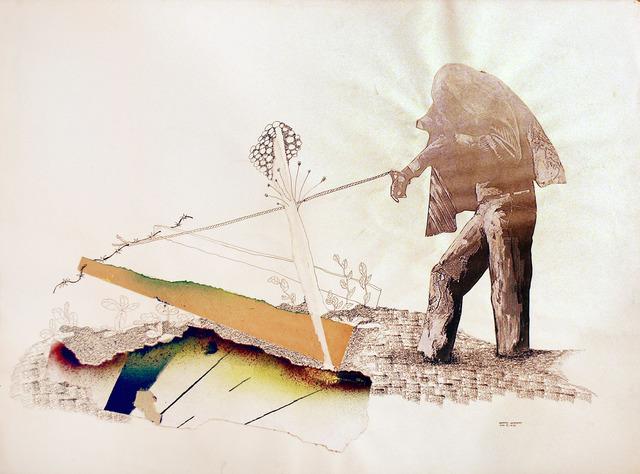Benny Andrews, 'Irony', 1975, Bill Hodges Gallery