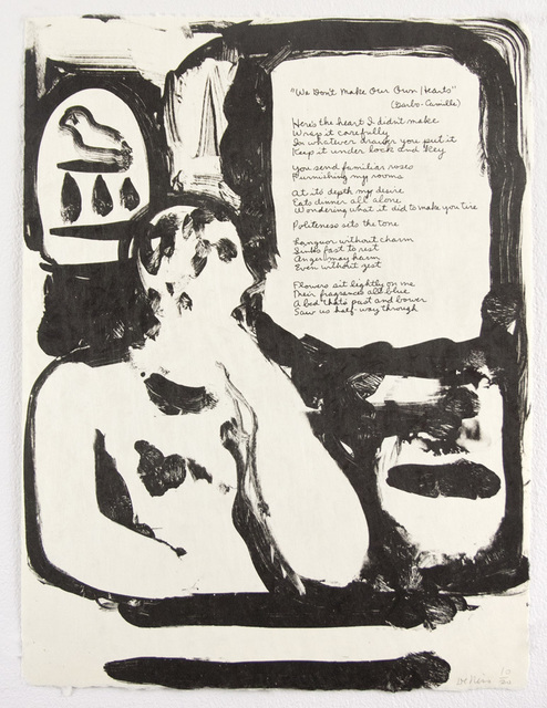 , 'We Don't Make Our Own Hearts,' 1978, Tamarind Institute