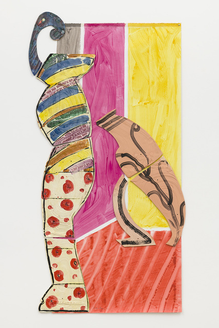 Betty Woodman, 'Lady and Leaning Vase', 2011, David Kordansky Gallery