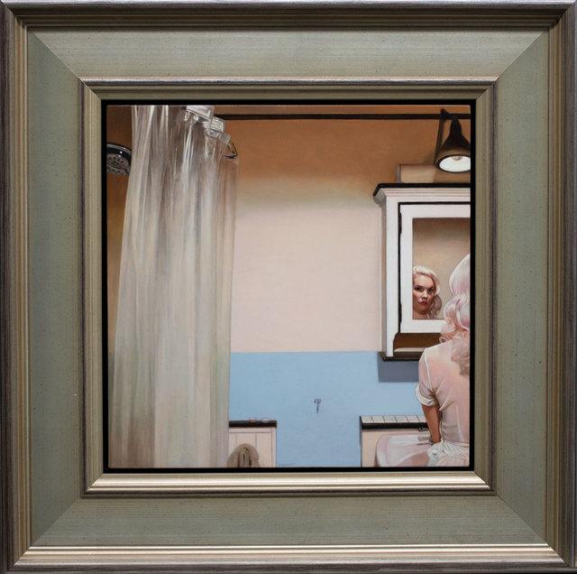 Shaun Downey, 'White Cabinet', 2019, ARCADIA CONTEMPORARY