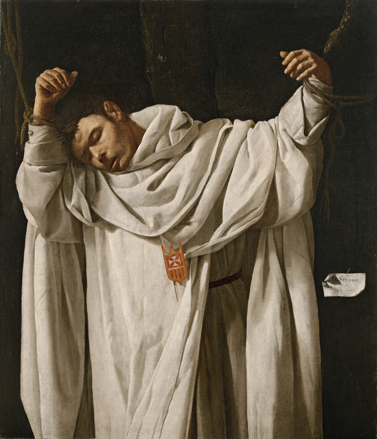 , 'San Serapio (Saint Serapion),' 1628, Museo Thyssen-Bornemisza