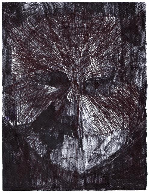 , 'untiled,' 2015, christian berst art brut