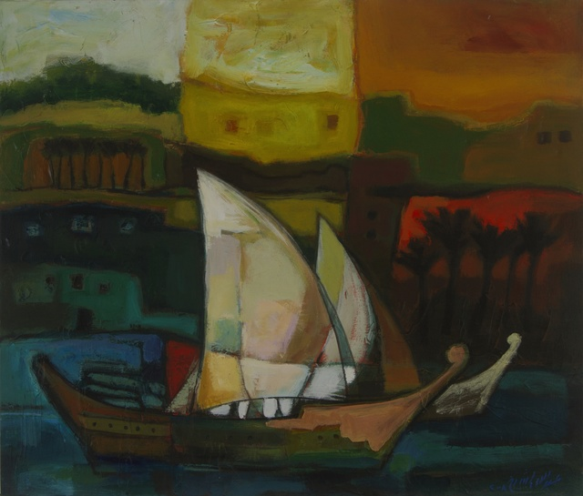 , 'Sail Boat,' 2008, Hafez Gallery