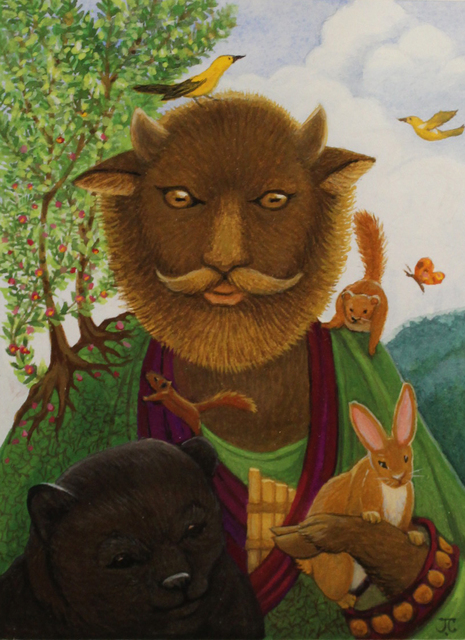 , 'Pan the Protector,' , LeMieux Galleries