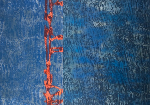 Thérèse Oulton, 'Untitled (Blue, Red Stripe)', 1994, Marlborough