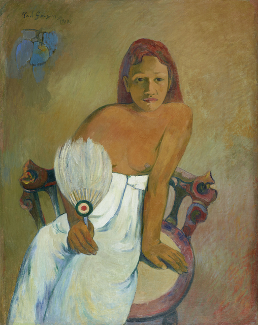 , 'Femme à l'éventail (Woman with a Fan),' 1902, Fondation Beyeler