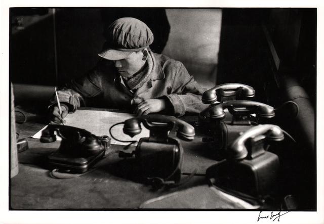 , 'The five telephones, Anshan.,' 1957, Atlas Gallery