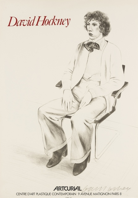 David Hockney, 'Gregory Evans (Baggott 57/77)', 1976, Forum Auctions
