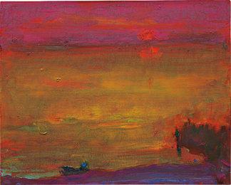 Anatoly Kryvolap, 'Evening Lake,' 2016, Phillips: New Now (December 2016)