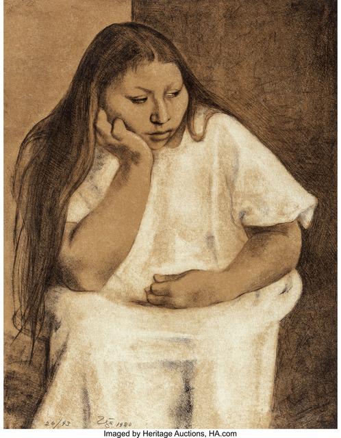Francisco Zúñiga, 'Domitila', 1980, Heritage Auctions