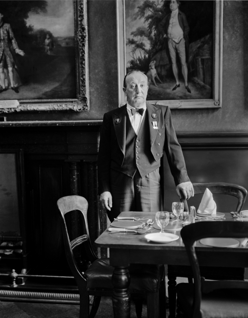 , 'Headwaiter, Garrick Club, London,' 1962, ROSEGALLERY