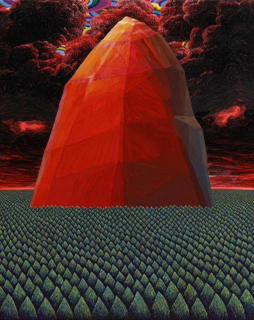 , 'A crag,' 2016, Leehwaik Gallery