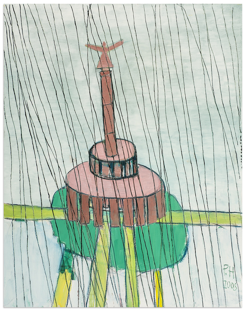 , 'Victory Column in the Rain,' 2008, Anna Zorina Gallery