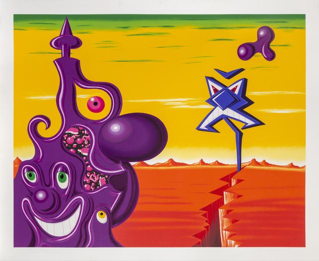 Kenny Scharf, 'Sajippe Kraka Joujesh', 1998, Print, Screenprint, RoGallery