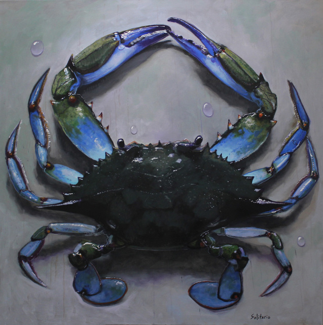 , 'Mr Blue Crab on My Table ,' 2019, LeMieux Galleries