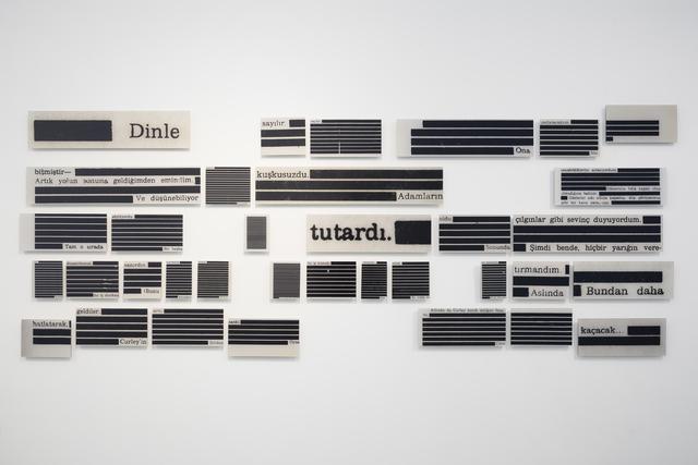 Ali Taptık, 'Meridians (Fragments)', 2013, Galerie Paris-Beijing
