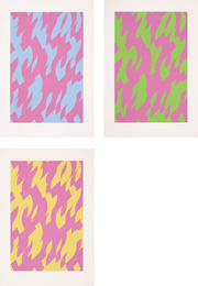 Bridget Riley, 'Magenta and Blue; Magenta and Green; and Magenta and Yellow,' 2002, Phillips: Evening and Day Editions