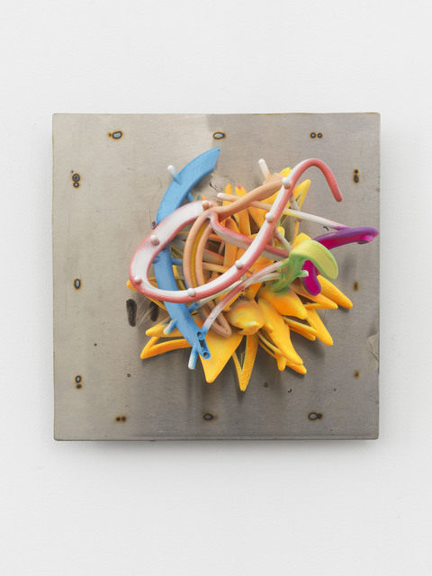 , 'Botanical Star on Stainless Background,' 2018, Marianne Boesky Gallery