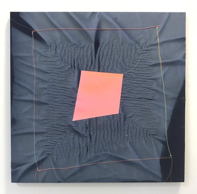 , 'Ghost Pattern (Pink on Blue),' 2018, Halsey McKay Gallery