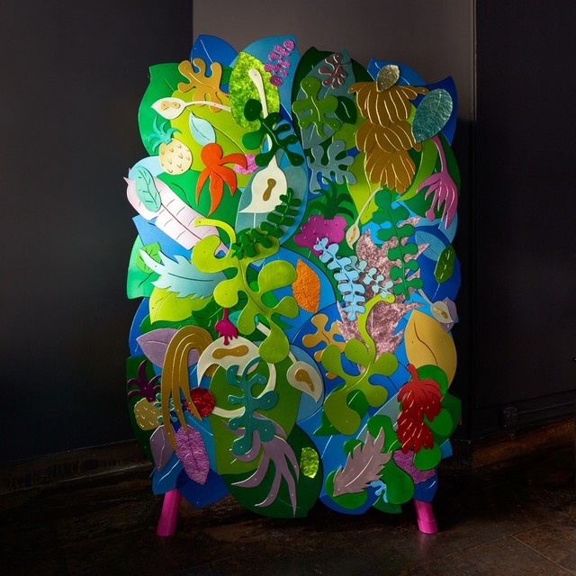 , 'Tropical Cabinet,' 2018, The Future Perfect