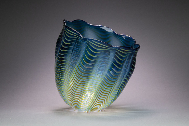 Dale Chihuly, 'Teal Blue Seaform Persian Basket', 1997, Modern Artifact